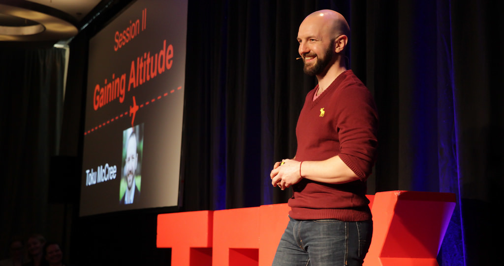 TEDx Stage 2