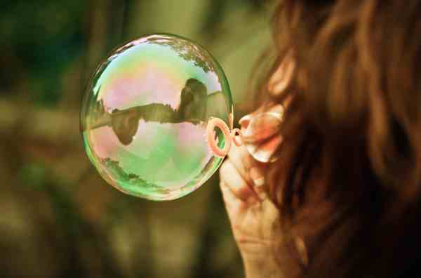 Girl with Bubble